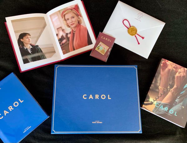Cate Blanchett's deluxe box of 'Carol' film goodies