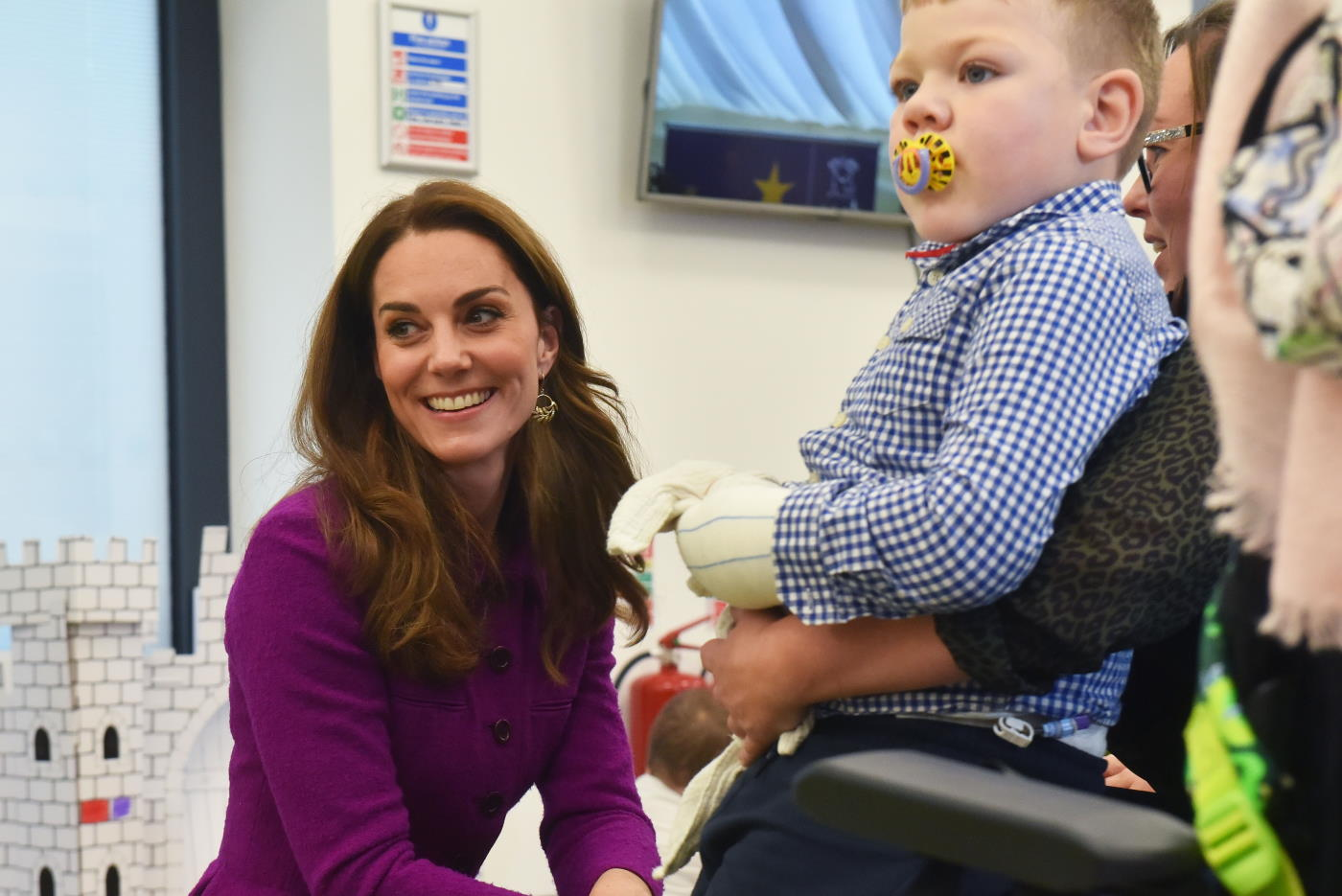 HRH The Duchess of Cambridge at The Nook, EACH